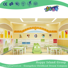School Whole Solution for Bright Green Reading Room Decoration (HG-11)