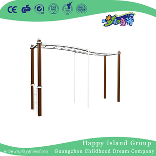 Outdoor Physical Exercise Equipment Waved Climbing Ladder (HA-12904)