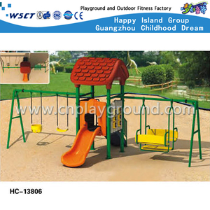 High Quality Backyard Kids Play Swing Equipment (Hc-13806)