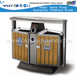 High Quality Outdoor Trash Can Park Garbage Bins for Sale (HLD-A-56)