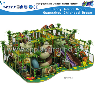 Kids Indoor Playground with Forest Theme