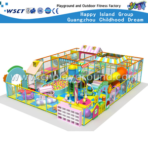 Kindergarten Soft Cartoon Indoor Playground Equipment (H13-60005)