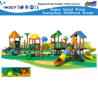 Children Outdoor Animal Galvanized Steel Playground with Slide (HD-3101)