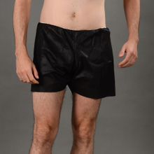 Disposable dark blue non-woven SBPP boxer