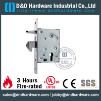 Stainless steel cylindrical positioning mortise lock for Metal Door-DDML035