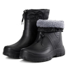 Lightweight keep warm ankle men winter eva rain boots for work