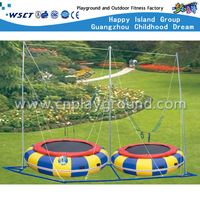 Outdoor 2 Person Small Inflatable Jumping Trampoline (A-17903)