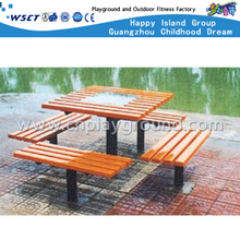M11-13314 Outdoor Wooden Leisure Bench Parks Equipment