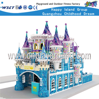 Middle Size Castle Indoor Playground for Soft Play Toys (HE-06401)