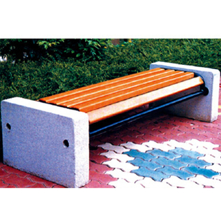 Anusement Park Children Wooden Leisure Bench Equipment (HHK-14706)