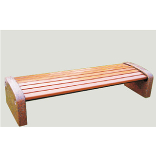 Outdoor Modern Wooden Leisure Bench Equipment (HHK-14604)