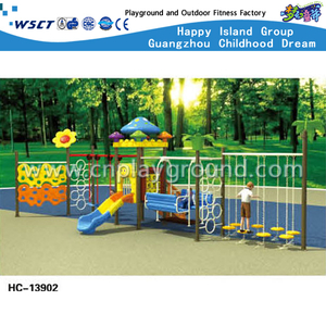 Amusement Park Outdoor Swing Combination Playground for Kids (HC-13902)