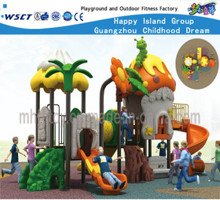 Outdoor School Children Tree House Playground Equipment for Sale (HF-15302)