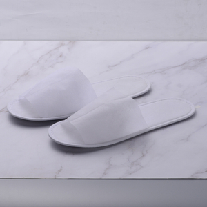 Disposable non-woven slipper with EVA shoe sole