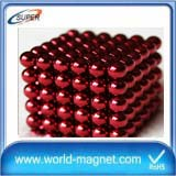 5mm Neo Spheres 216 Pcs 3mm Magnet Balls color coated with tin box