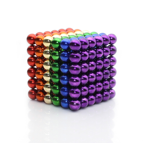 Neodymium Magnetic balls colored coating