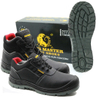 China factory sales tiger master brand metal free men work shoes