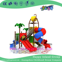 New Design Cheap Small Children Water Park Slide Playground (WPE-cus001)
