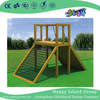 Outdoor Wood Climbing Exercising Frames Equipment for Children (HF-17601)