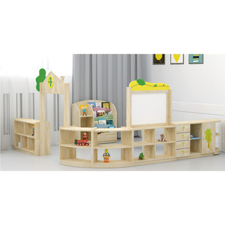 School Indoor Solid Wooden classroom Furniture for Function Room (HJ-3400)