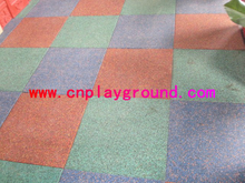 New & high-grade outdoor playground flooring rubber mat on stock
