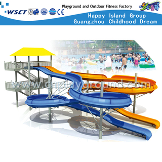 Water Park Slide Equipment For Kids Play(HD-6502)