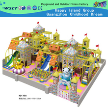 Children Center Indoor Playground Equipment Naughty Castle for Children(HD-7501)