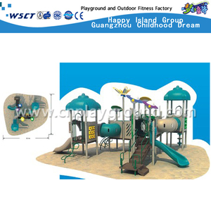 Commercial School Kids Sevilla Galvanized Steel Playground Set For Sale(HAP-01701)