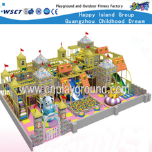 Indoor Playground Castle Playground Equipment Toys for Kids (HE-06801)