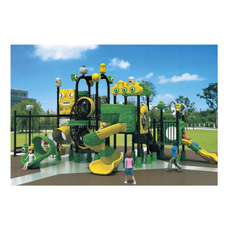 Outdoor Robot Galvanized Steel Playground for Kids (HJ-11001)