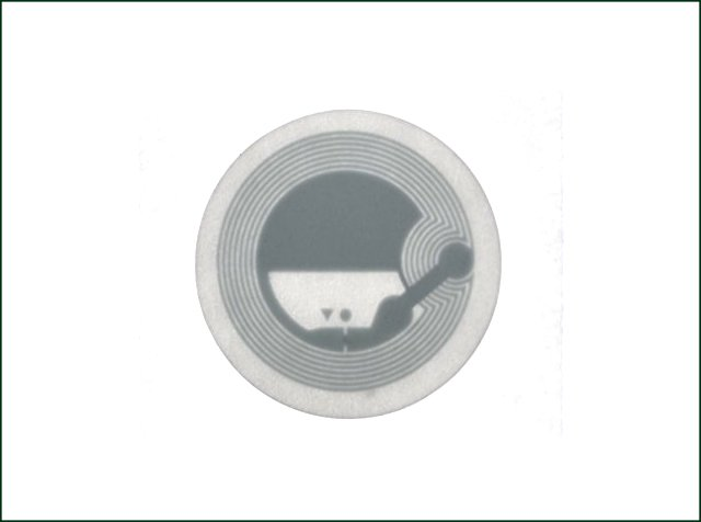 Long Reading Range Impinj M4E/M4D RFID Library Paper Label