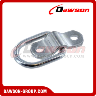 D355-R Surfaced Mounted Rope Ring - Pan Fitting, D-Ring with Mounting Bracket