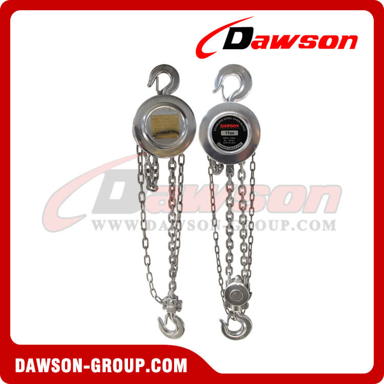 Stainless Steel Chain Hoist, Pulley Chain Block for Lifting