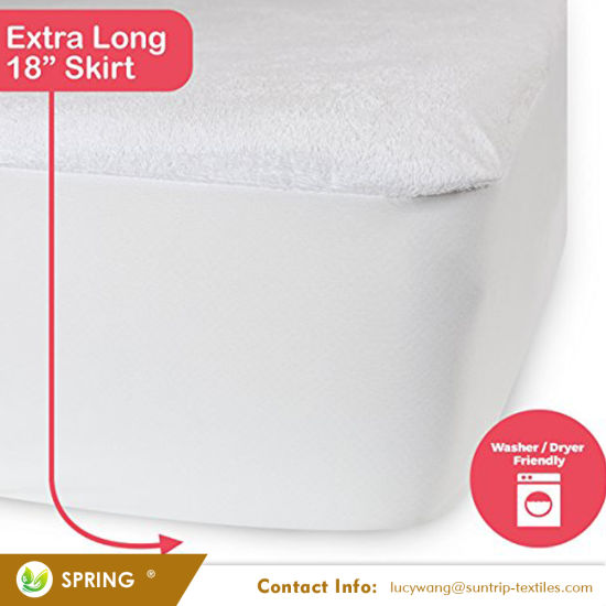 King Mattress Protector - Lab Tested Premium Waterproof, Hypoallergenic Mattress Cover