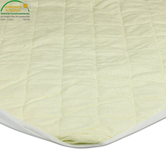 Chinese Suppliers Waterproof Crib Mattress Pad Cover Colored Pattern