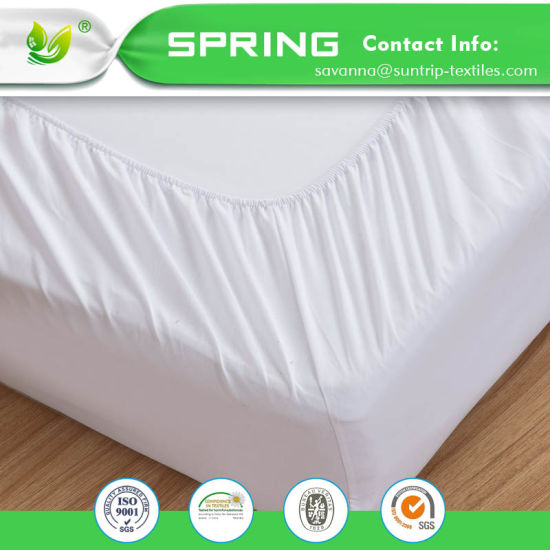 Waterproof Mattress Protector Queen Size Bed Cover Deep Pocket Fitted Dryer Safe