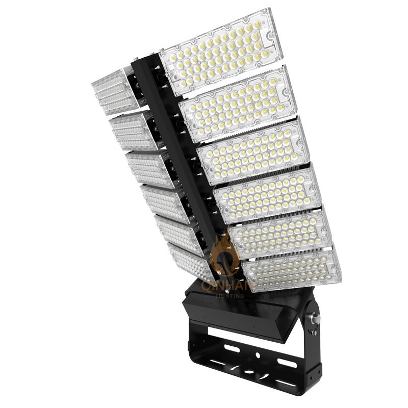 Rotatable Angle IP66 Outdoor Square Stadium 1200W LED Airport Depot High Mast Flood Light Fixture