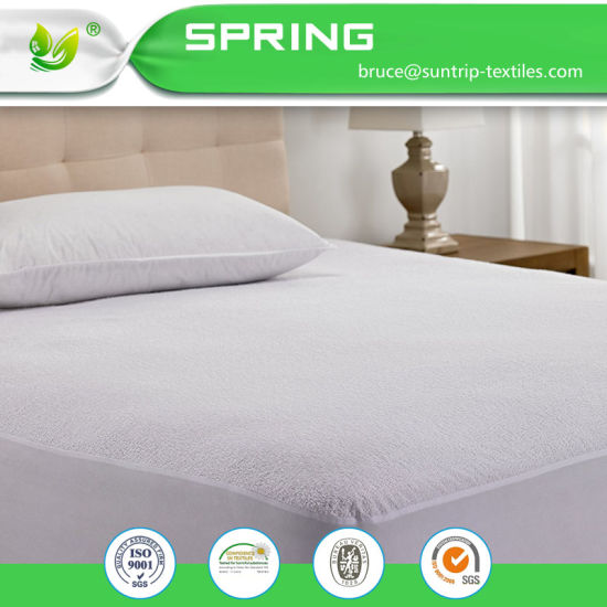 100% Waterproof Breathable Premium Quality Fitted Sheet Mattress Cover