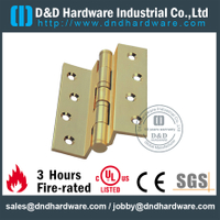 Solid brass crank hinge with BHMA standard for Commercial Door-DDBH013