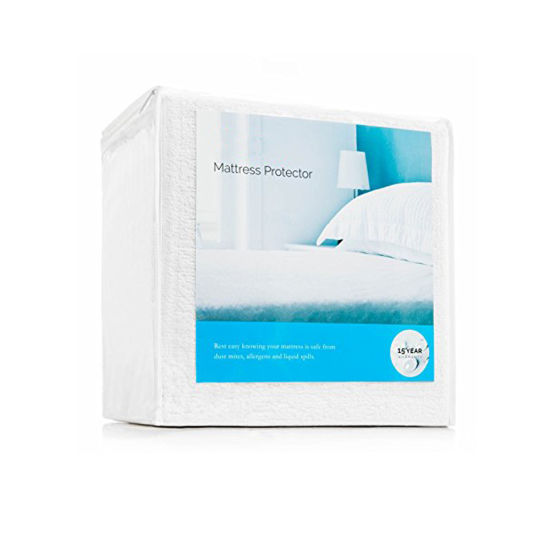 Premium No Crinkling Queen Size Hypoallergenic 100% Waterproof Mattress Protector