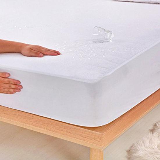 Queen Size Fitted Sheet Hypoallergenic Waterproof Mattress