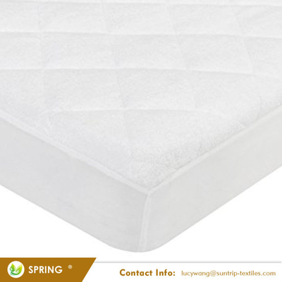 Waterproof and Breathable Bamboo Baby Mattress Pad Fits All Standard Crib Sizes Crib Mattress Cover Pad