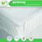White Elastic Fully Enclosed Mattress Cover Mattress Encasement Single Size