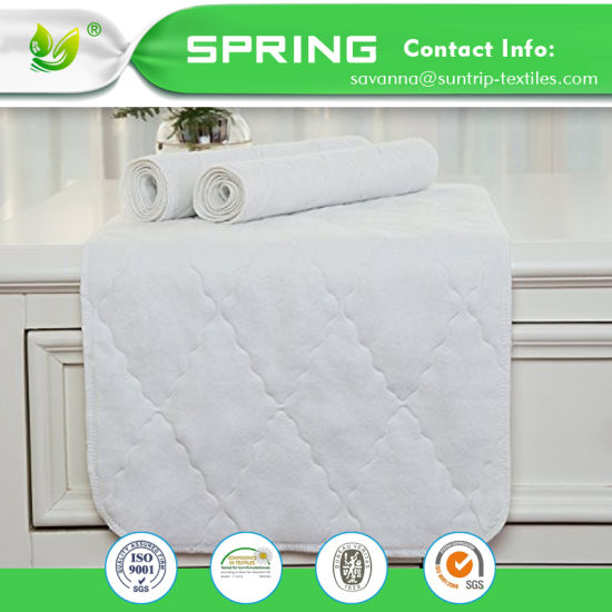 Waterproof Crib Mattress Protector Hypoallergenic Quilted Crib Fitted Mattress Pad