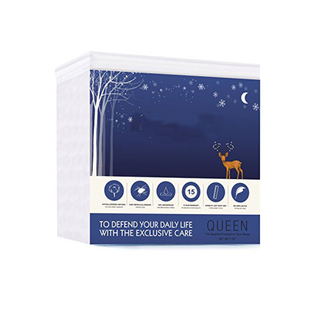 Premium Hypoallergenic Noiseless Cotton Terry Waterproof Mattress Protector, Mattress Cover