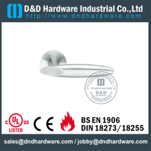 Stainless Steel 316 Solid L Shape Lever Handle for Double Doors-DDSH020