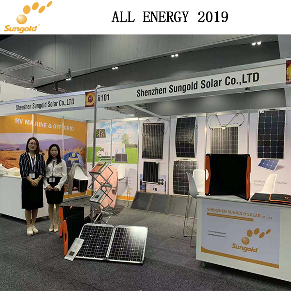 Sungold-Stil ist immer noch ALL ENERGY 2019 in (Melbourne)