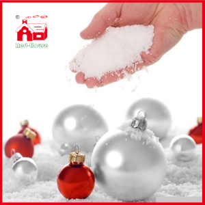 Christmas Decoration Fake Snow Powder Magic Snow White Instant Expending Snow Artificial Magic Fake Snow