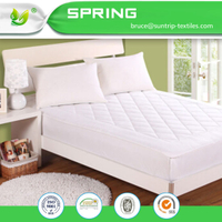 Terry Cotton Waterproof Washable Mattress Protector Cover Sheet Anti-Bacterial