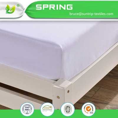 Terry Cotton Waterproof Fitted Mattress Protector Cover Hypoallergenic King